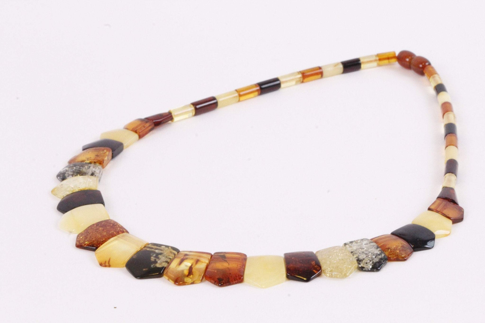 Cleopatra Style Amber Necklace - Amber SOS