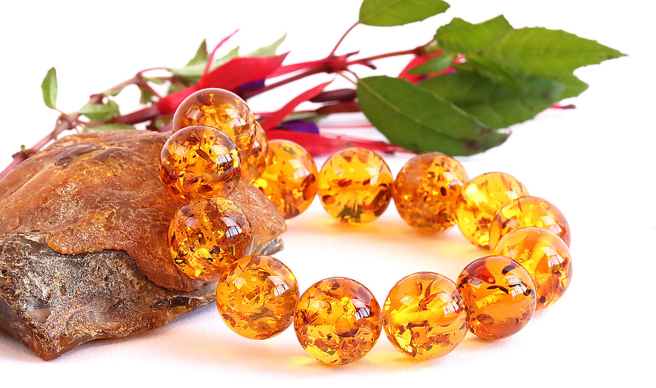 Honey Gemstone Bracelet