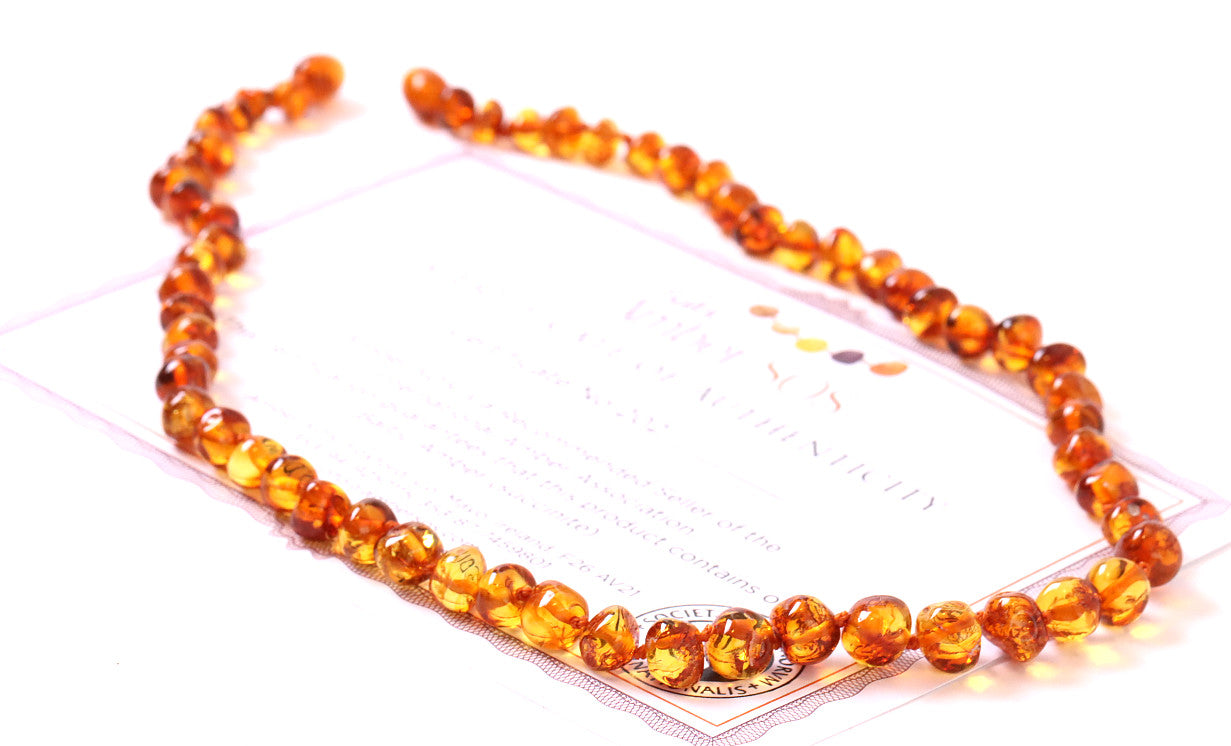 Honey Round Necklace