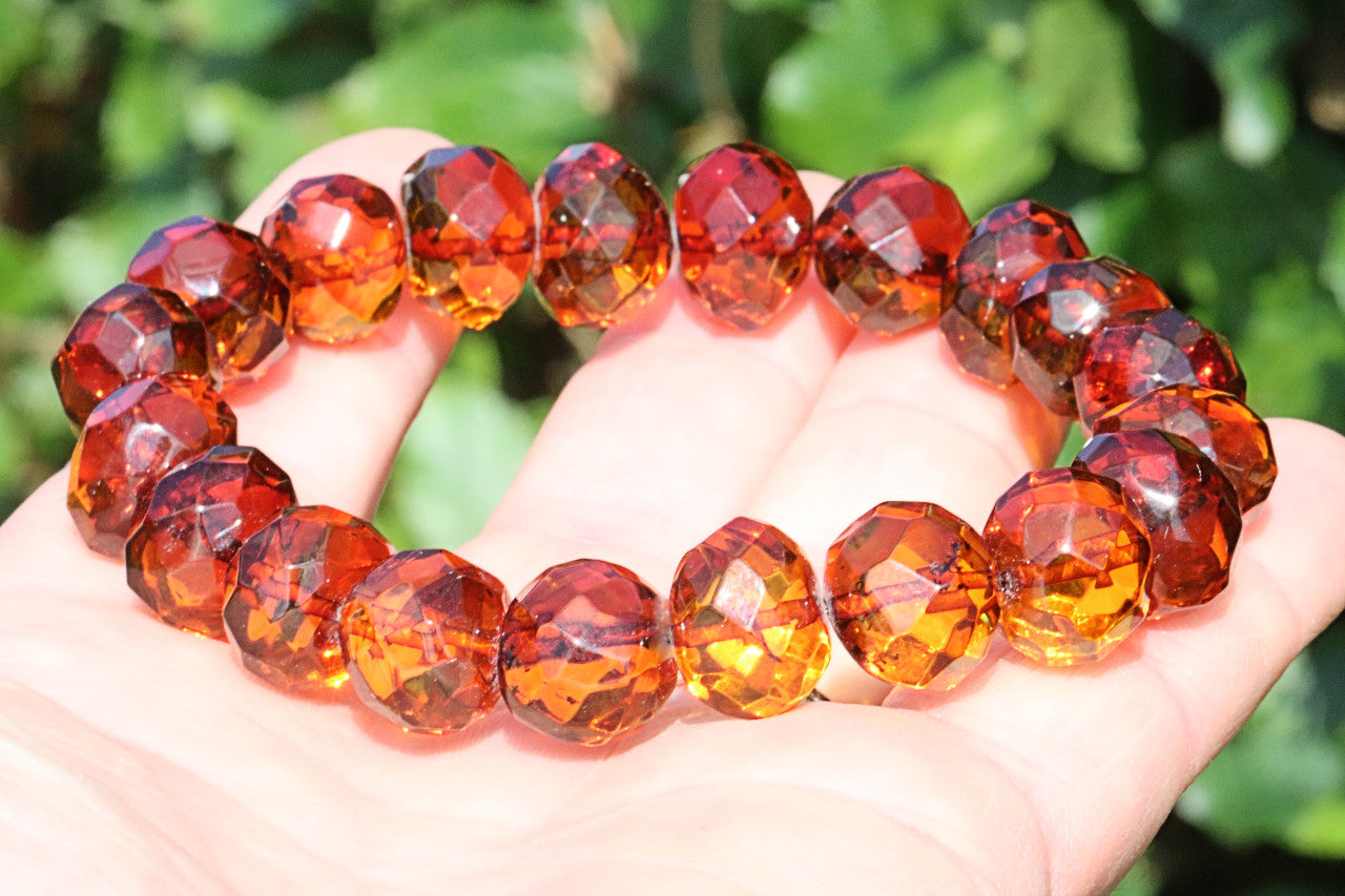 Striking Amber Bracelet for Chrismas