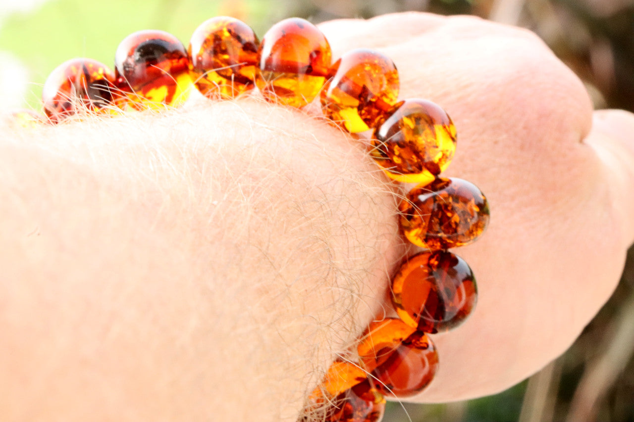 Missing you Gift 2 X Protection Amber Gemstones