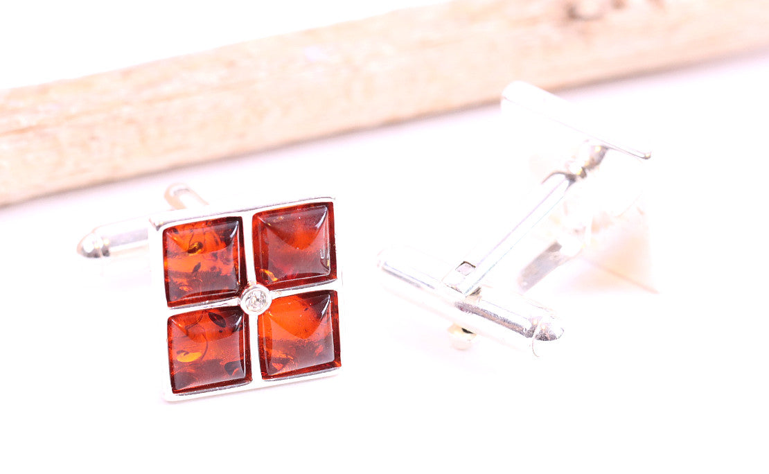 Handmade Christmas Cufflinks  for Men