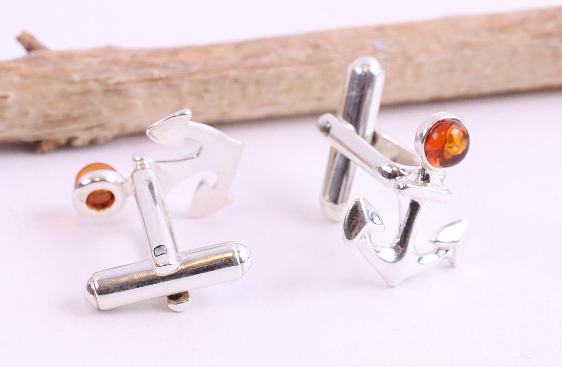 Anchor Cufflinks for Men