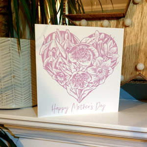 Happy Mother's Day Card - Pink