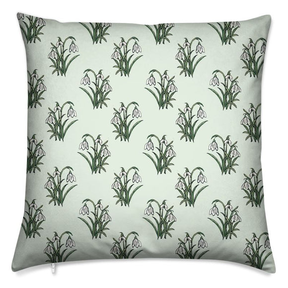 Snowdrops Cushion 16