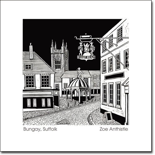 SALE ITEM - Greeting Card 'Bungay'