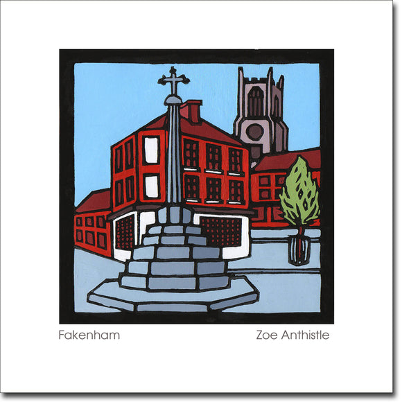 SALE ITEM - Greeting Card 'Fakenham'