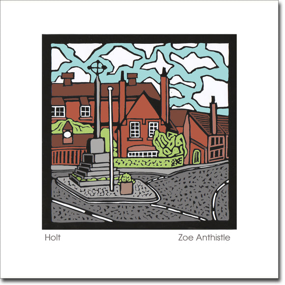 SALE ITEM - Greeting Card 'Holt'