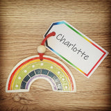 Rainbow Clay Decoration