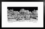 'Norwich Market' Limited Edition Original Linocut