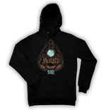DISTRESSED OUIJA BOARD PLANCHETTE HOODIE