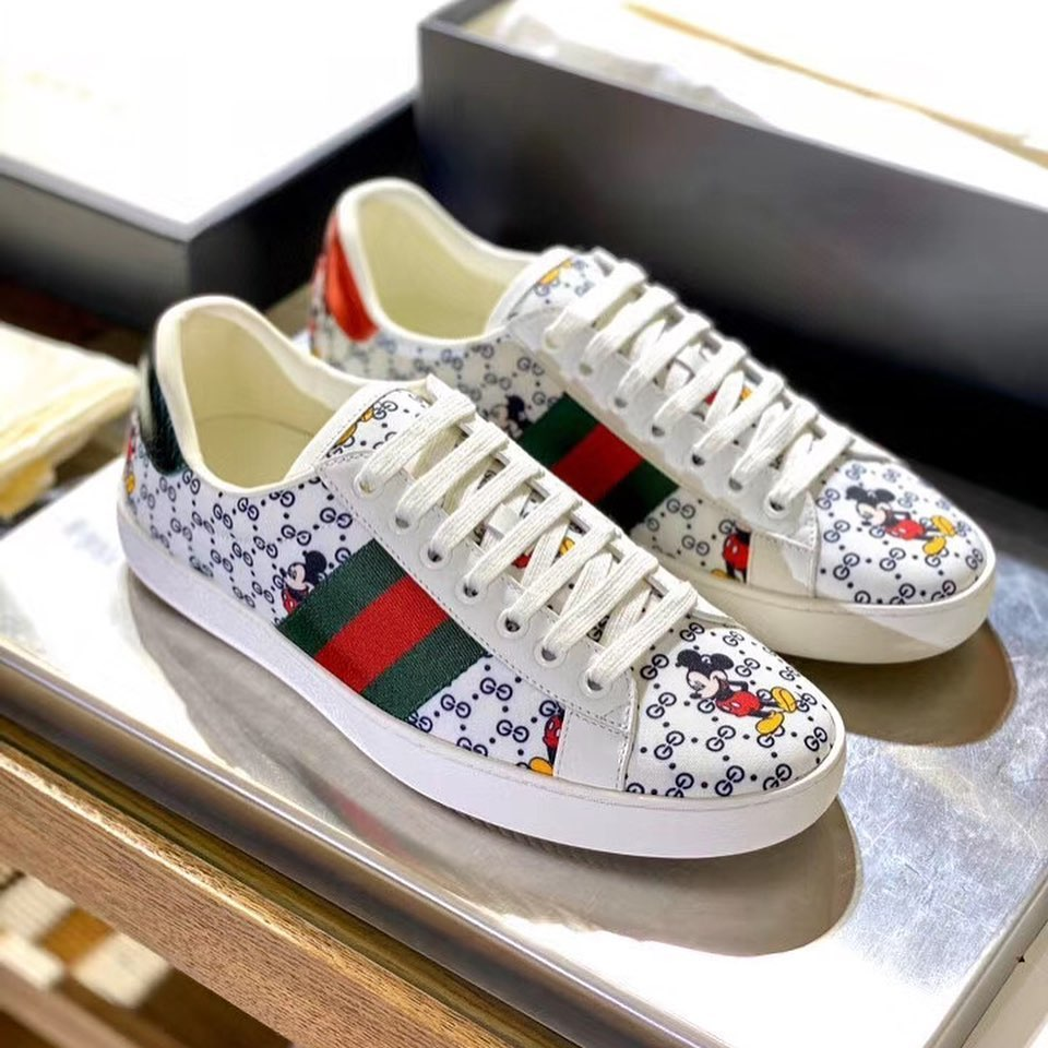 Ace Sneaker with Disney - White