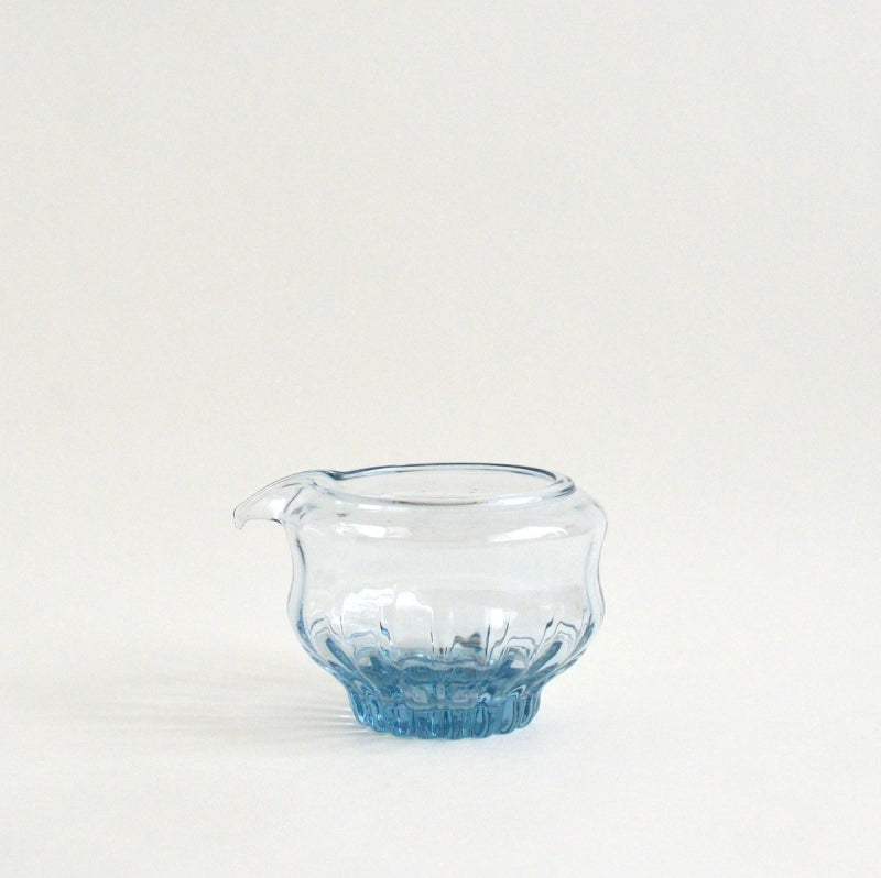 GRICE Lipped bowl S #03 ; HiroyGlassStudio
