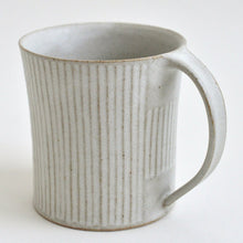 Load image into Gallery viewer, Shinogi Mug Cup (White) ; Koji Kitaoka