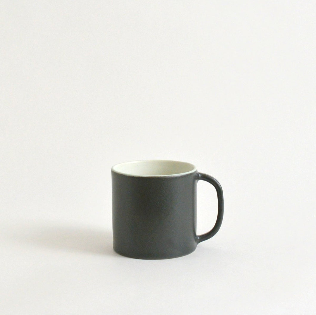 Coffee Cup M (Green & white) ; Wakako Senda