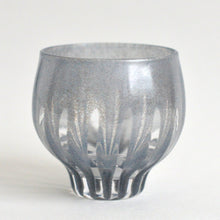 Load image into Gallery viewer, ren Sake cup #12 (smoke gray) ; HiroyGlassStudio