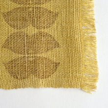 Load image into Gallery viewer, Linen table runner(bean;yellow) ; Yuiko Kamiyama