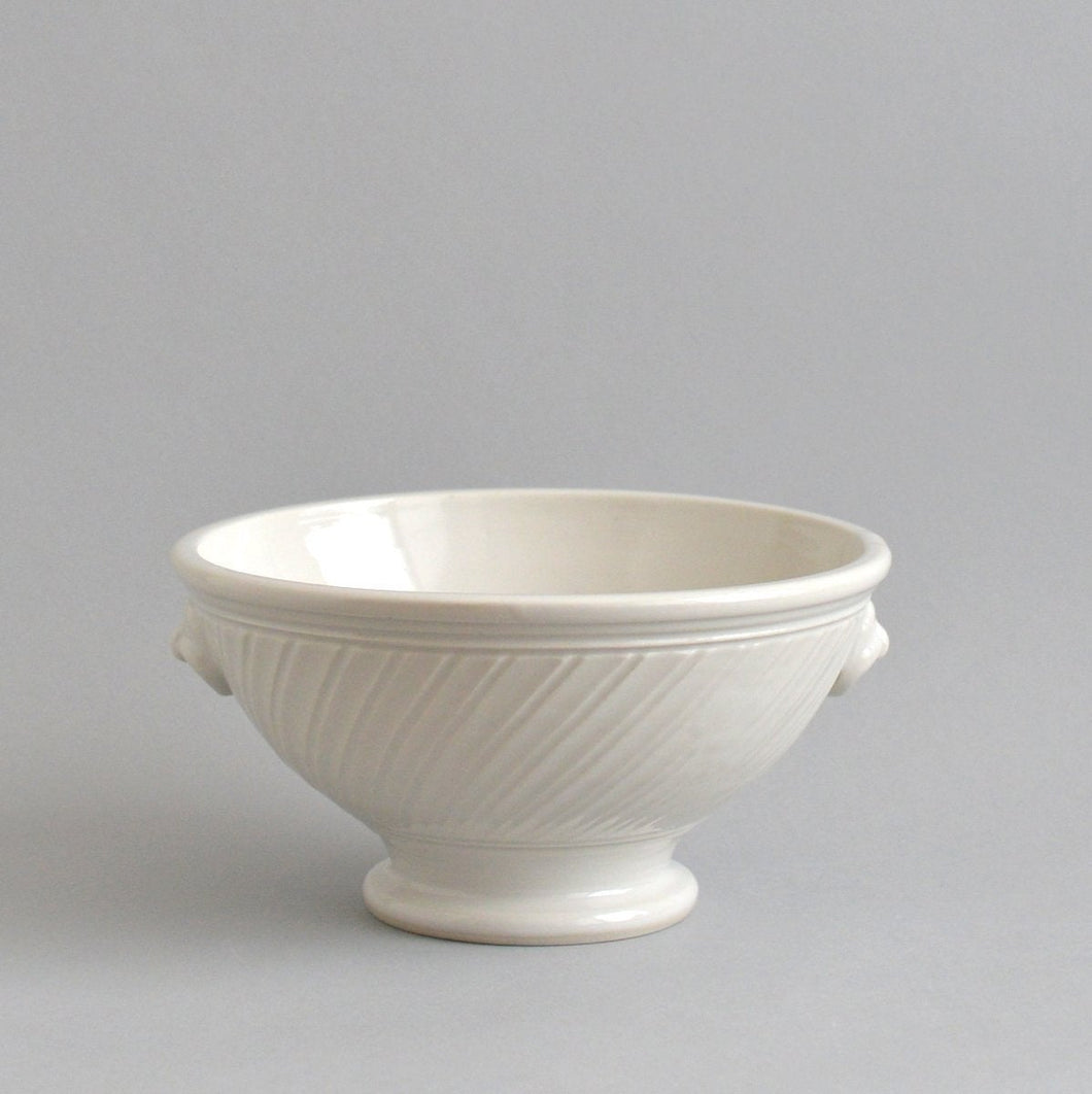 Pleat bowl (M;white) ; Shintaro Abe