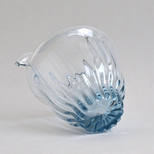 GRICE;lipped bowl(M02) ; Hiroy Glass Studio
