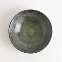Load image into Gallery viewer, Shallow bowls 6.5in (Blue Black,02) ; Koji Kitaoka