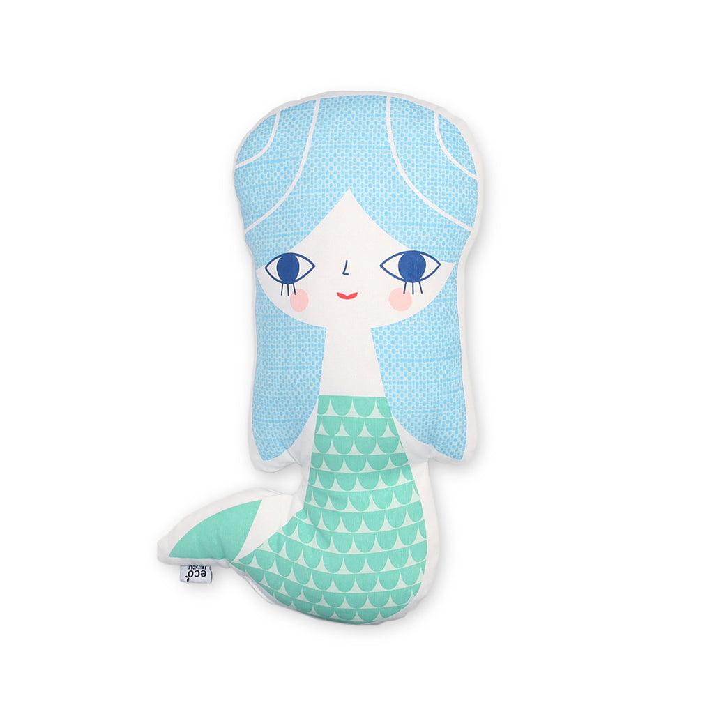 Mermaid Cushion - Ellie & Becks Co.