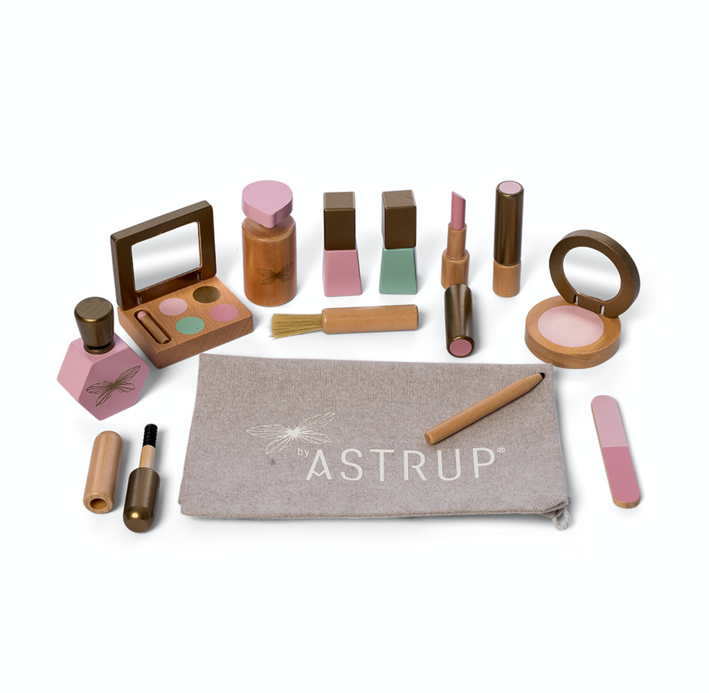 Wood Makeup Set - Ellie & Becks Co.
