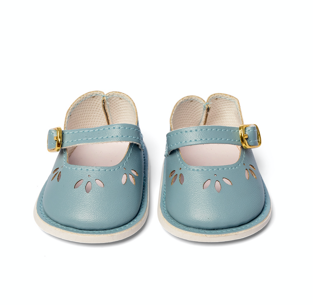 Doll Shoe, Periwinkle Blue - Ellie & Becks Co.