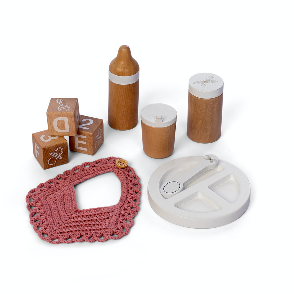 Doll Feeding Set - Ellie & Becks Co.