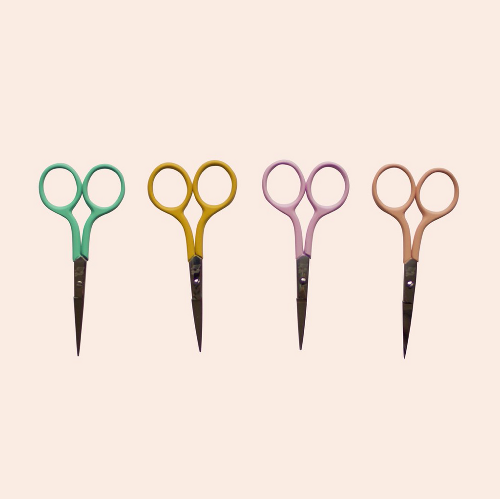 Colorful Embroidery Scissors - Ellie & Becks Co.