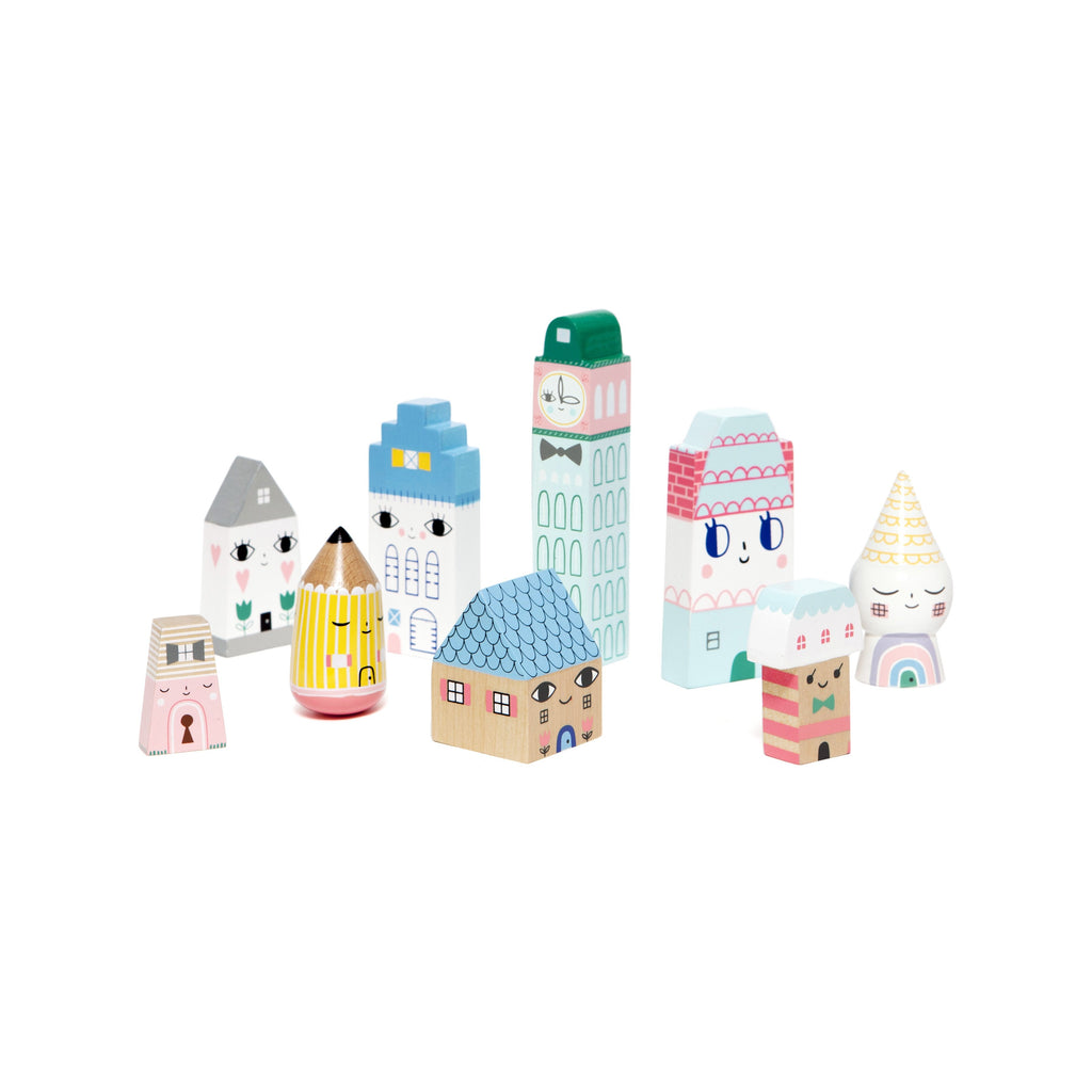Suzy's City Blocks - Ellie & Becks Co.