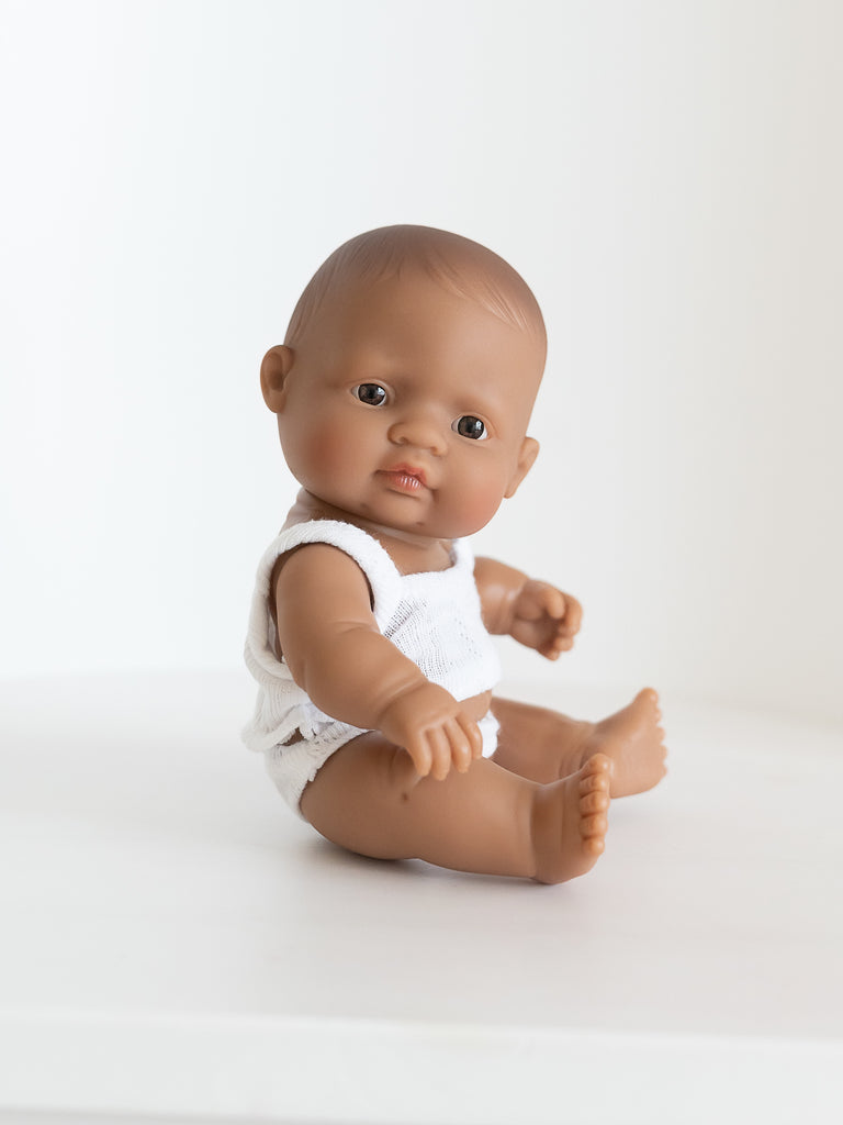 Miniland Newborn Baby Doll Hispanic - Ellie & Becks Co.