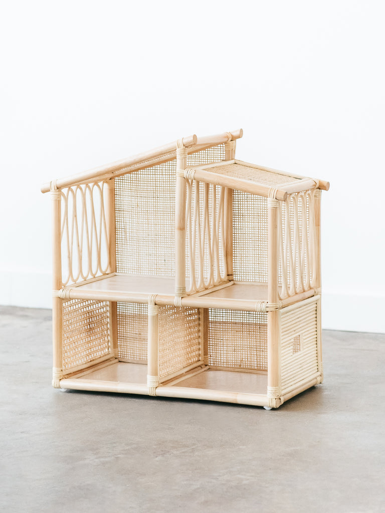 Edie Rattan Dollhouse - Ellie & Becks Co.