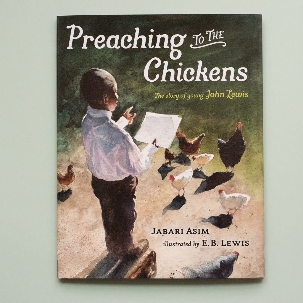 Preaching to the Chickens - Ellie & Becks Co.