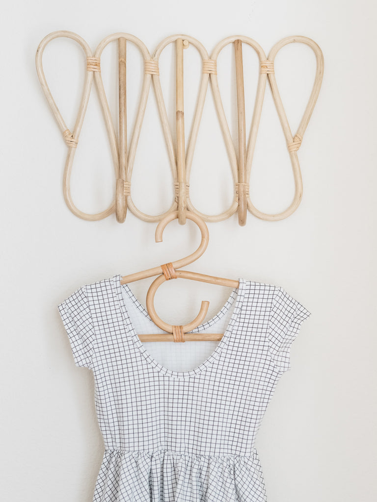 Rattan Childrens Hangers - Ellie & Becks Co.