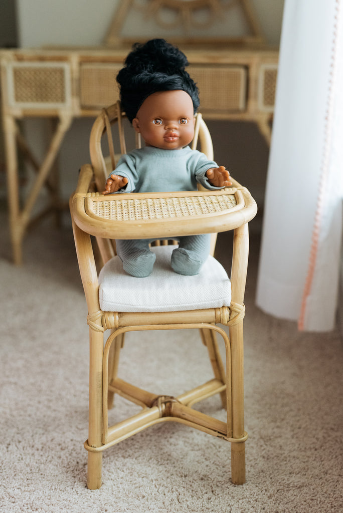 Sloane Doll Highchair - Ellie & Becks Co.