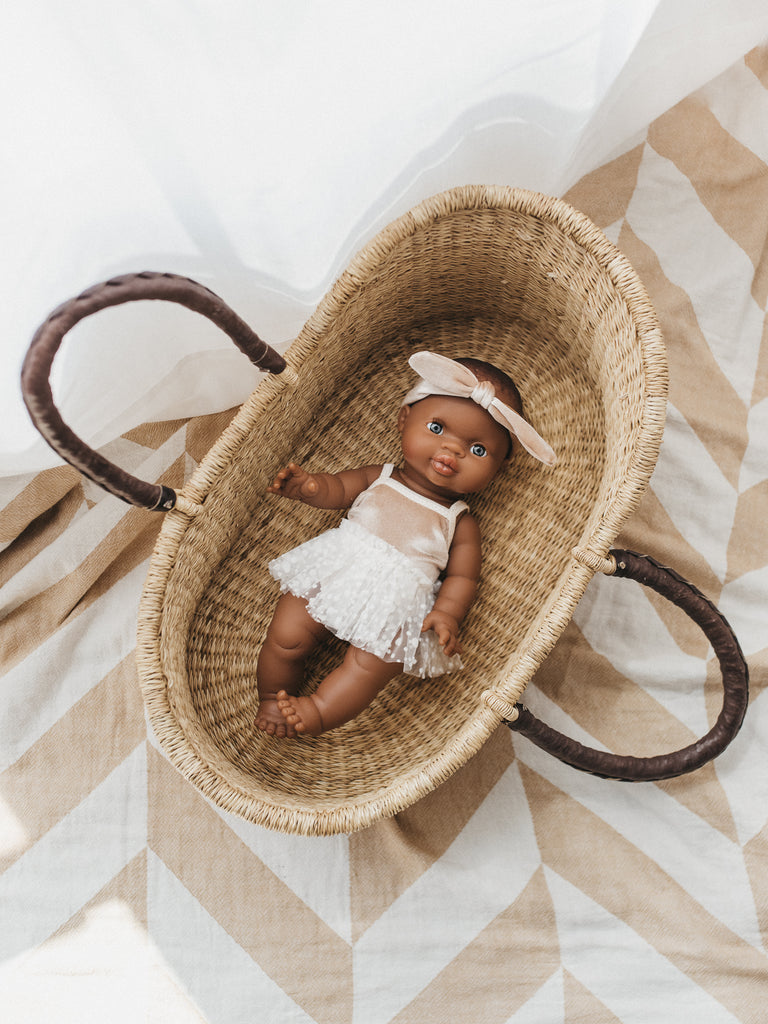 Doll Bolga Basket - Ellie & Becks Co.