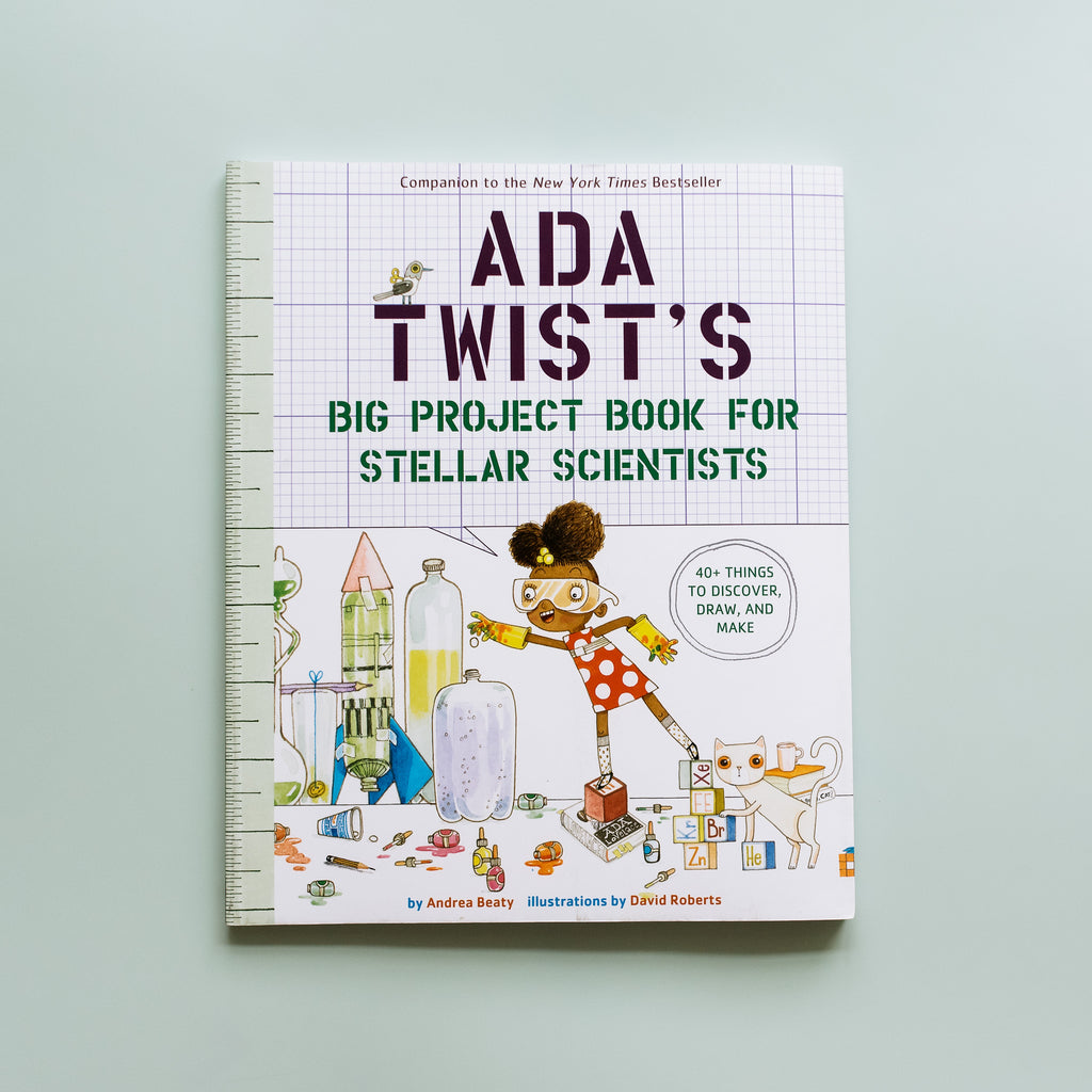 Ada Twist's Big Project Book For Stellar Scientists - Ellie & Becks Co.