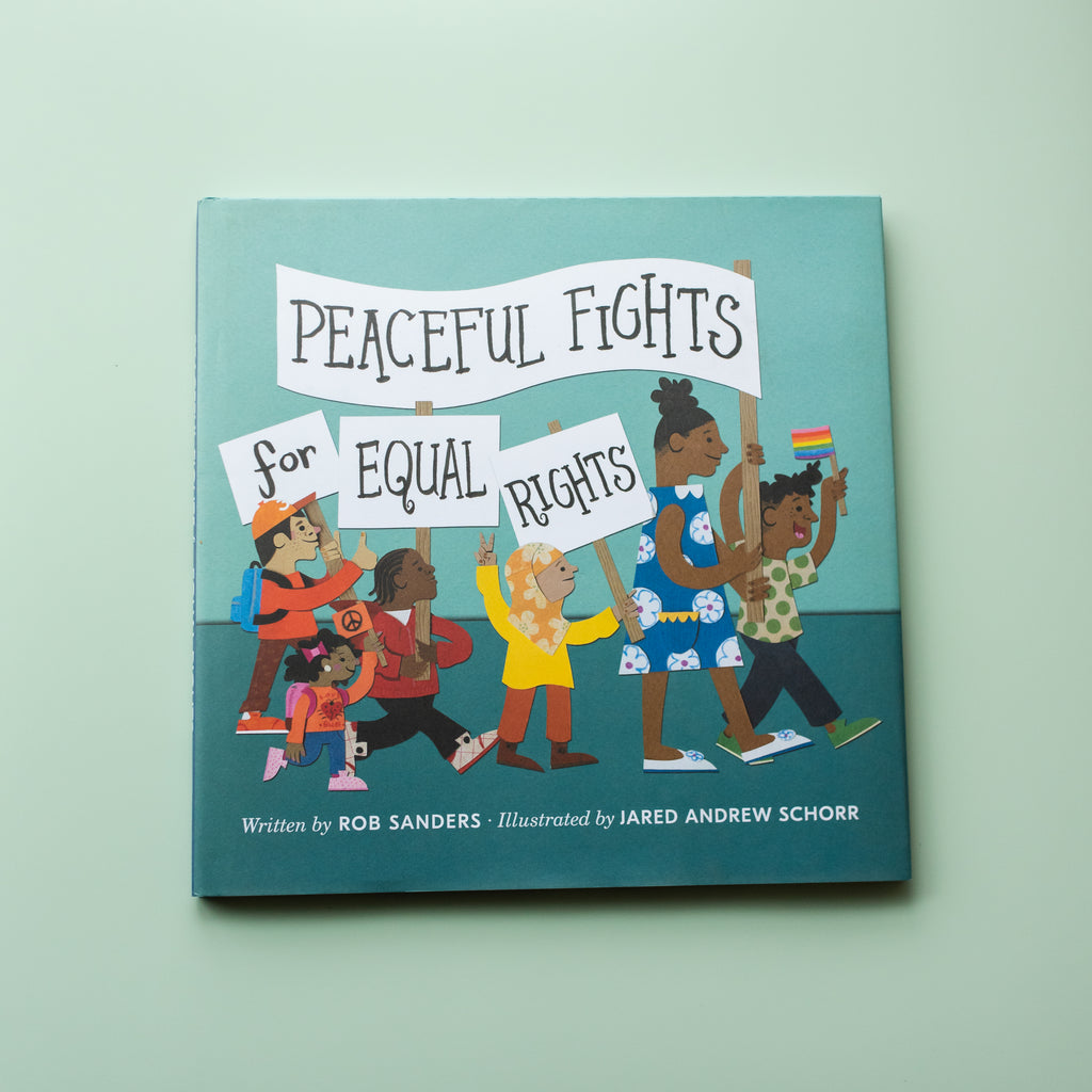 Peaceful Fights For Equal Rights - Ellie & Becks Co.
