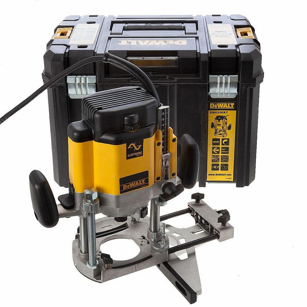 "DeWalt DW625EKT-GB 1/2"" Variable Speed Plunge Router (240V)"