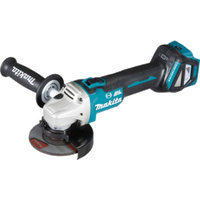 Makita 18V Angle Grinder 115mm BL LXT DGA463Z Body Only