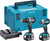 Makita DLX2180TJ 18V Brushless Kit - DHP484 Hammer Drill + DTD153 Impact Driver
