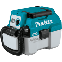 Makita DVC750LZ LXT 18V Brushless Wet & Dry Vacuum Cleaner L-Class Low Noise Body Only