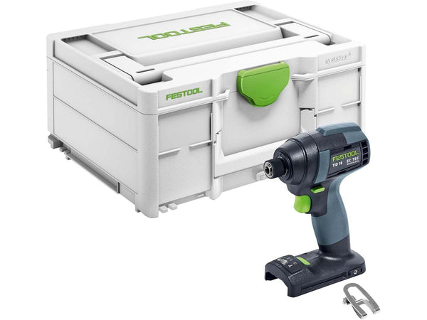 Festool 576819 TID 18-Basic Cordless Impact Drill (PLUS 1 FREE BP18 5.2AH BATTERY)