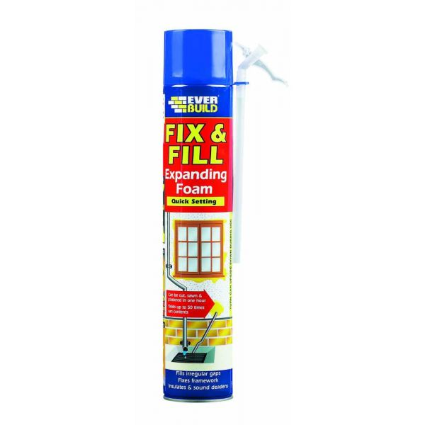 Everbuild Fix and Fill Foam - Box of 12