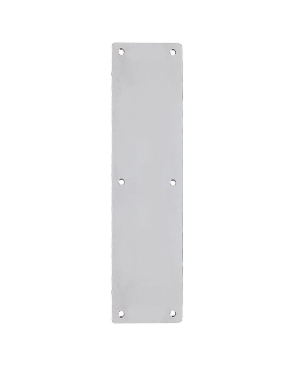 Zoo Hardware ZAS32RBSS Push Plate 350x75mm Satin Stainless Steel