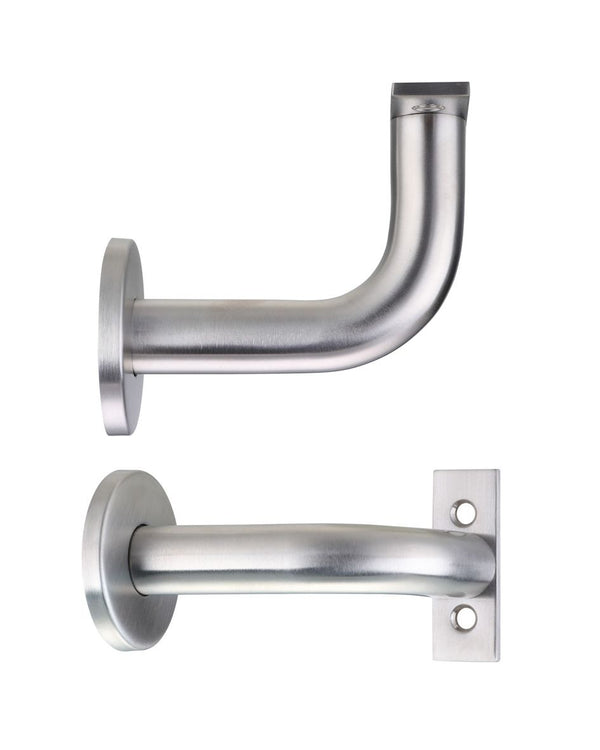 Zoo Hardware ZAS45SS Concealed Fix Handrail Bracket Satin Stainless Steel