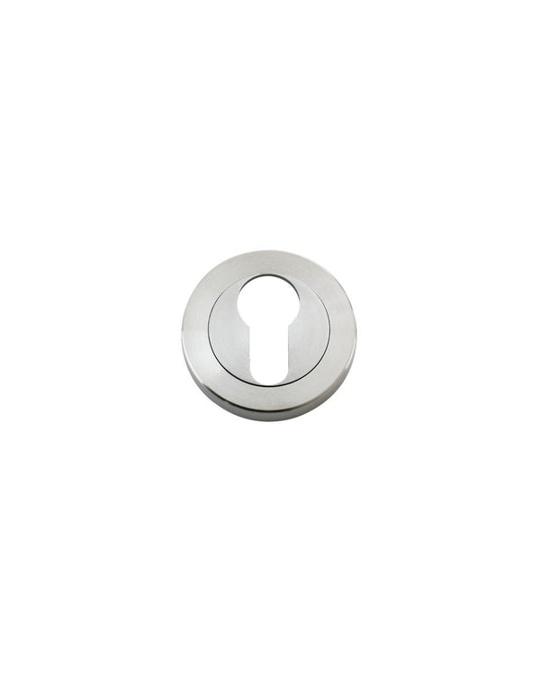 Zoo Hardware ZPS001SS Euro Profile Escutcheon Grade 304 Satin Stainless Steel