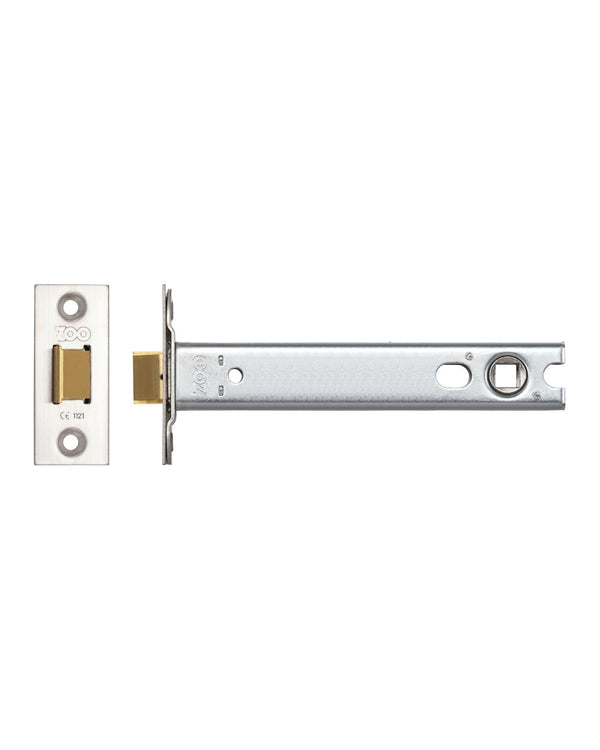 Zoo Hardware ZTLKA152SS 152mm Architectural Mortice Latch Satin Stainless Steel