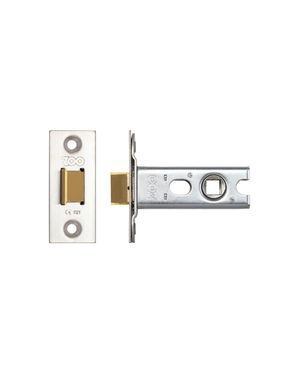 Zoo Hardware ZTLKA64SS 64mm Architectural Mortice Latch Satin Stainless Steel