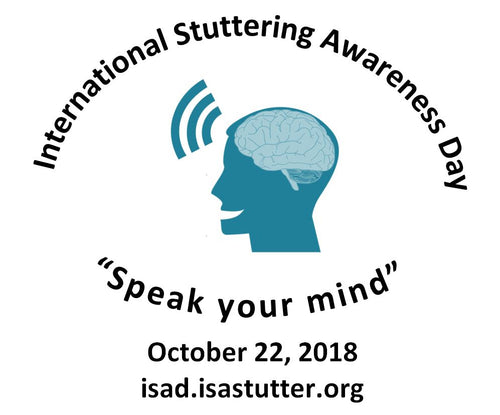 International Stuttering Awareness Day Logo Stuttering Therapy Resources Blog